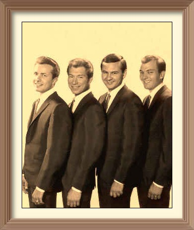 The Crickets 1964: Jerry Naylor,  Glen D Hardin, Sonny Curtis, Jerry Allison