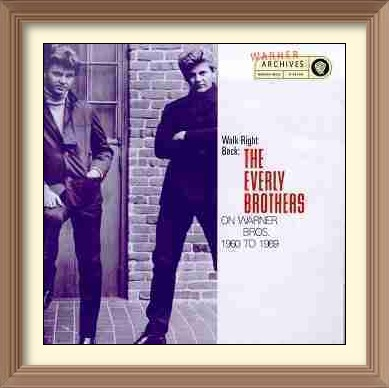 The Everly Brothers LP Walk Right Back 1960