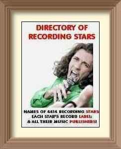 Directory Of Recording Stars